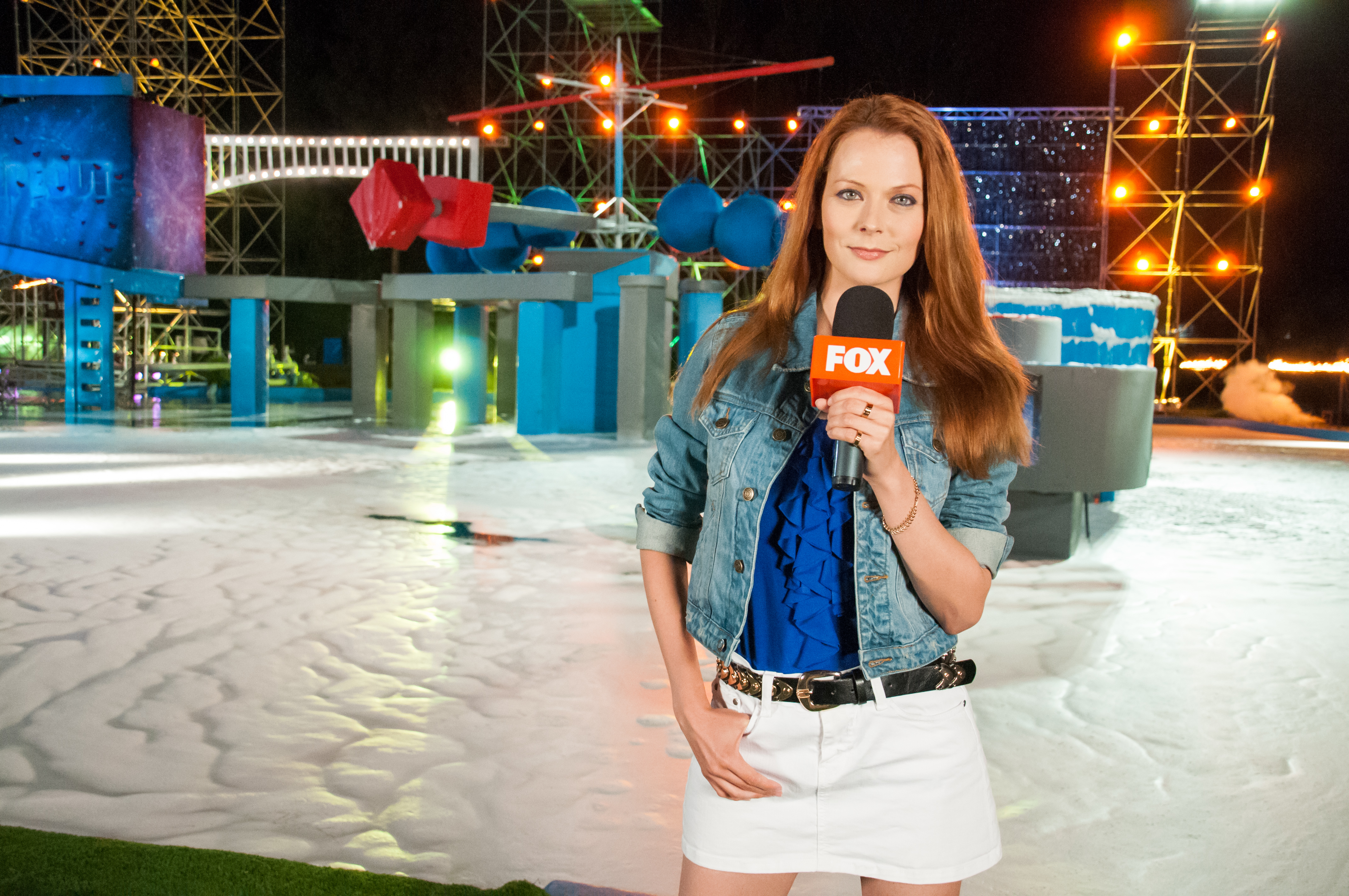 Wipeout Hostess I am the host for Wipe...